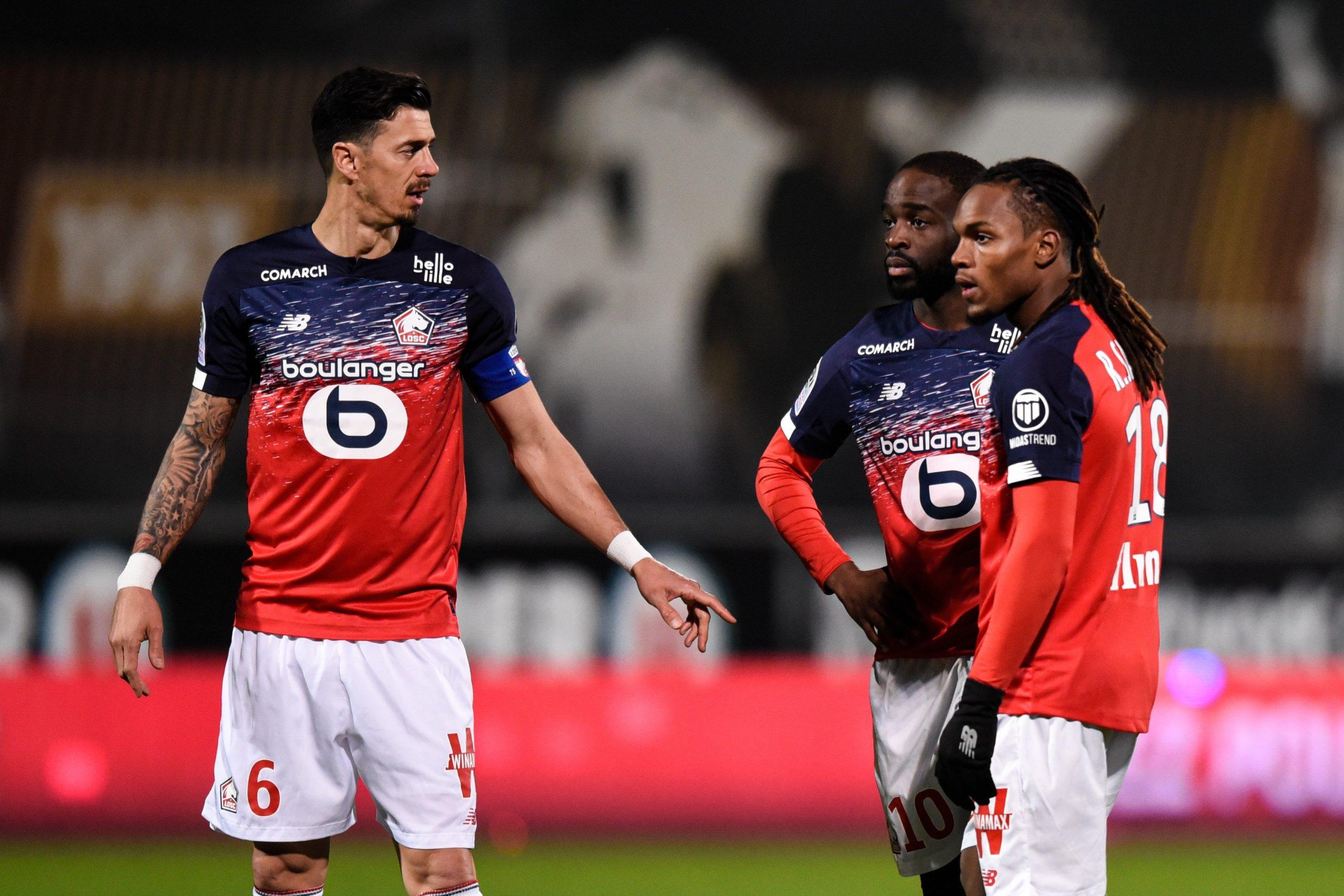 José Fonte et Renato Sanches face à Angers