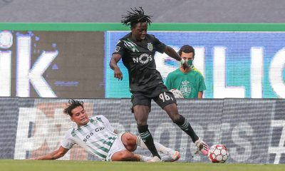 Joelson Fernandes avec le Sporting CP