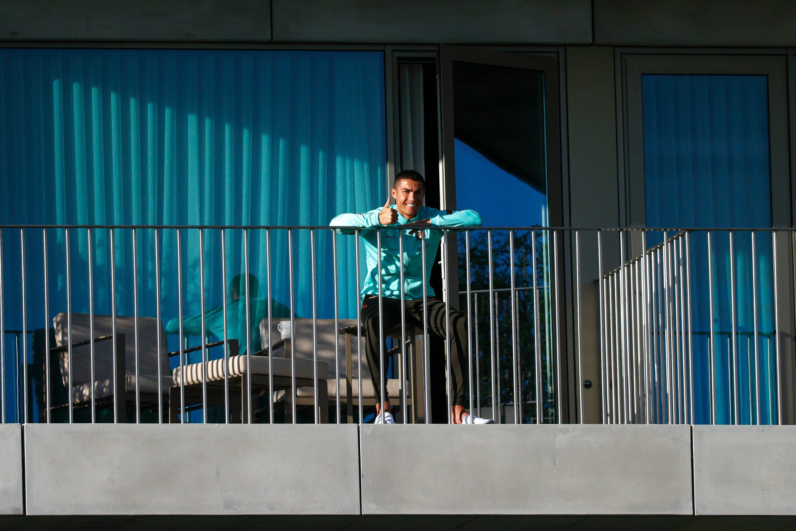 Cristiano Ronaldo de retour à Turin pour sa quarantaine