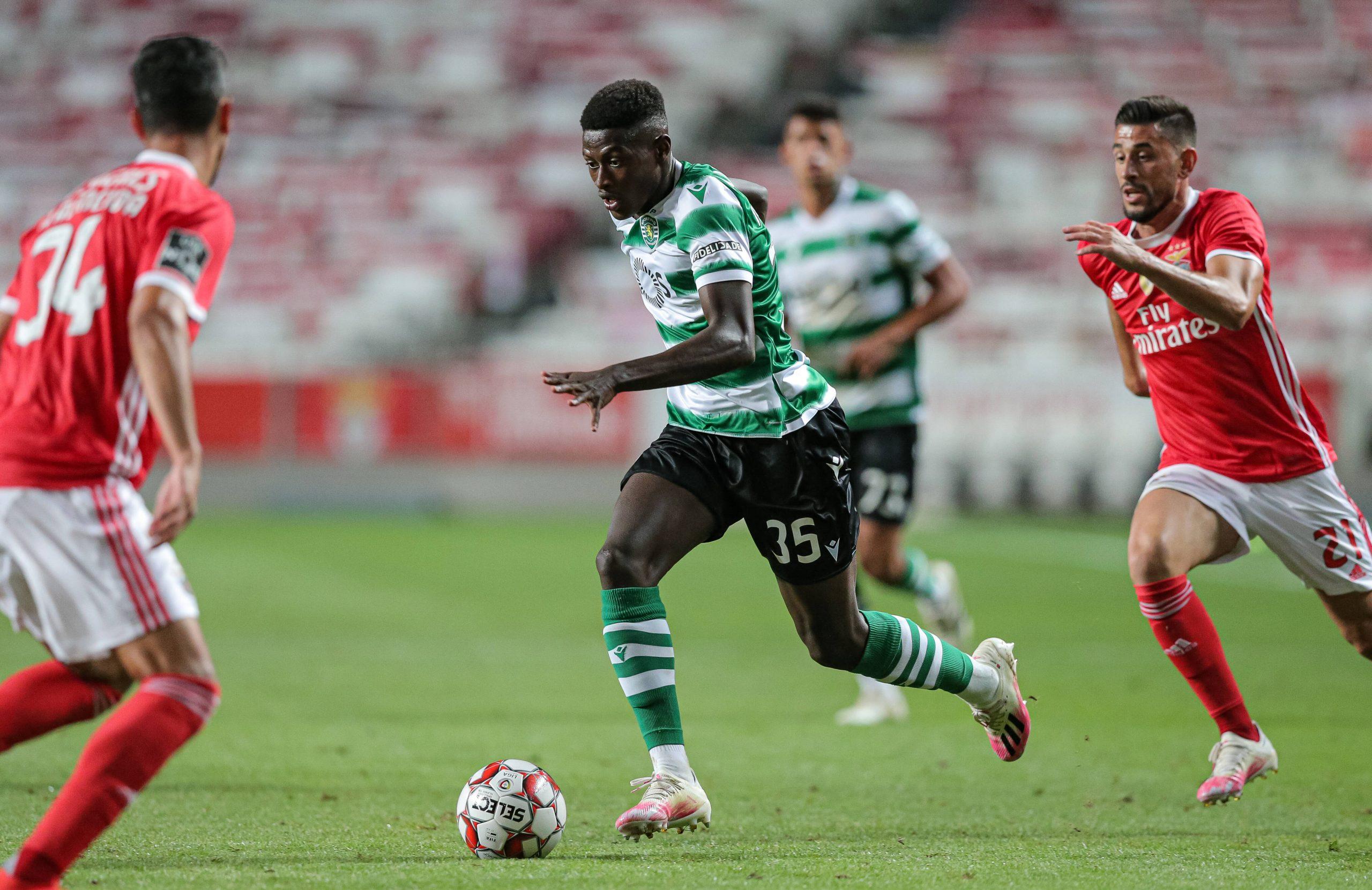 Nuno Mendes face à Benfica