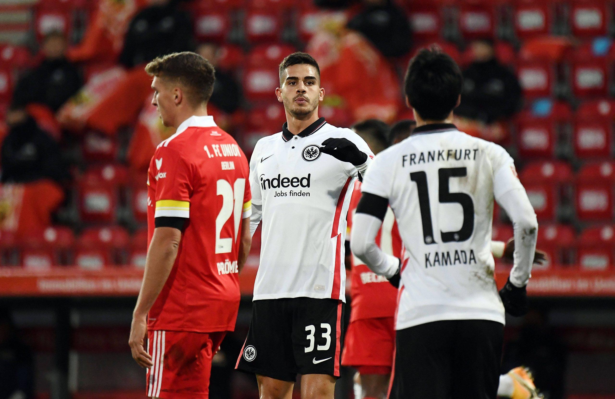 André Silva avec Frankfurt