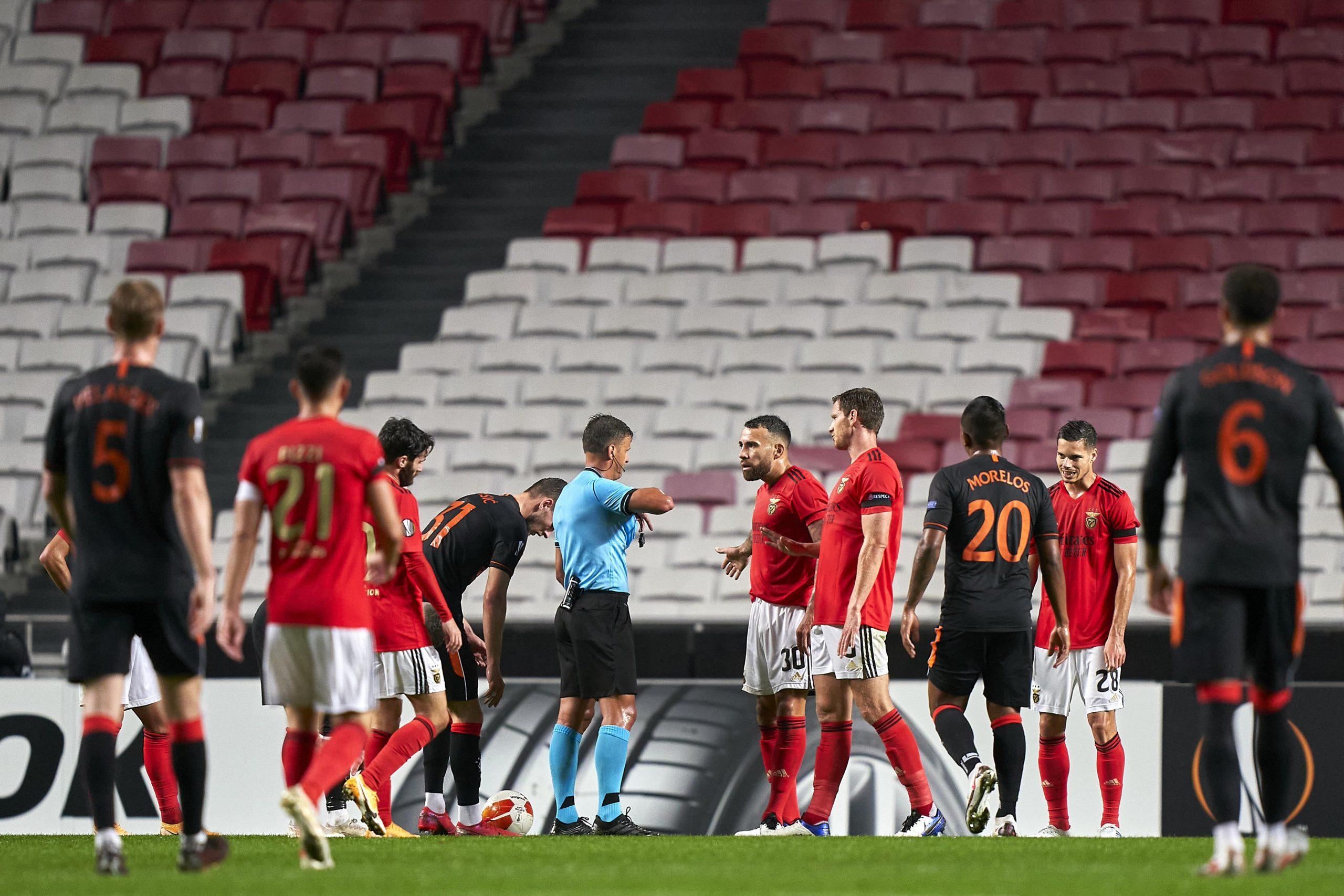 SL Benfica - Glasgow Rangers : Rùben Dias ou l'être manquant