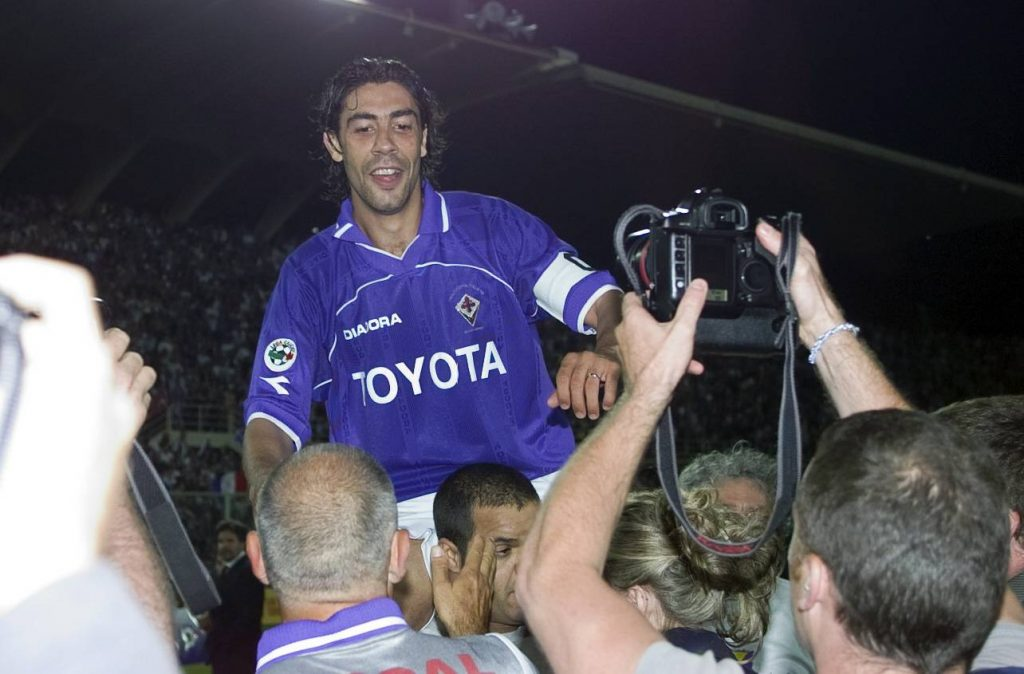 Rui Costa à la Fiorentina