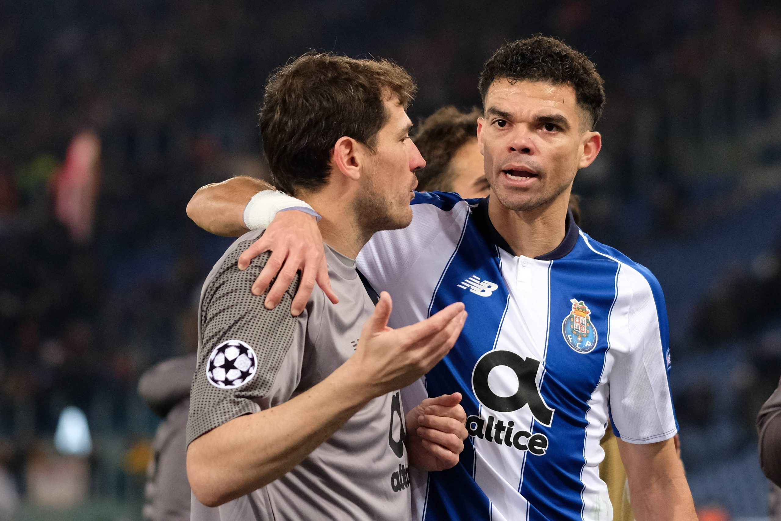 Casillas et Pepe