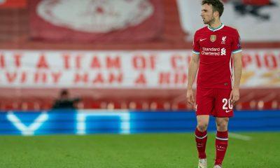 Diogo Jota en Ligue des Champions avec Liverpool