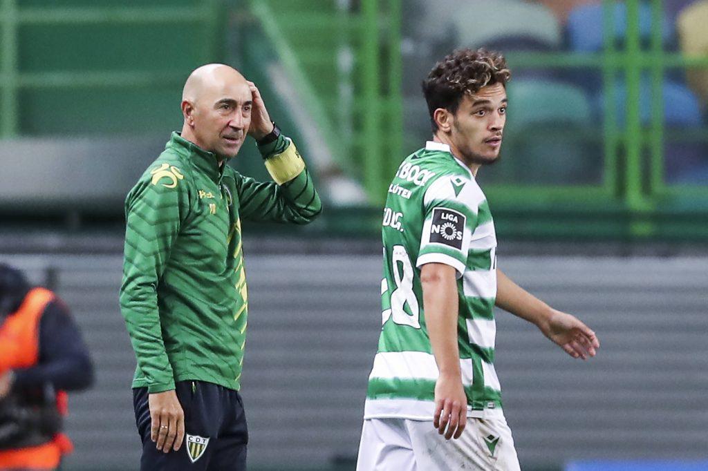 Pedro Gonçalves avec le Sporting CP
