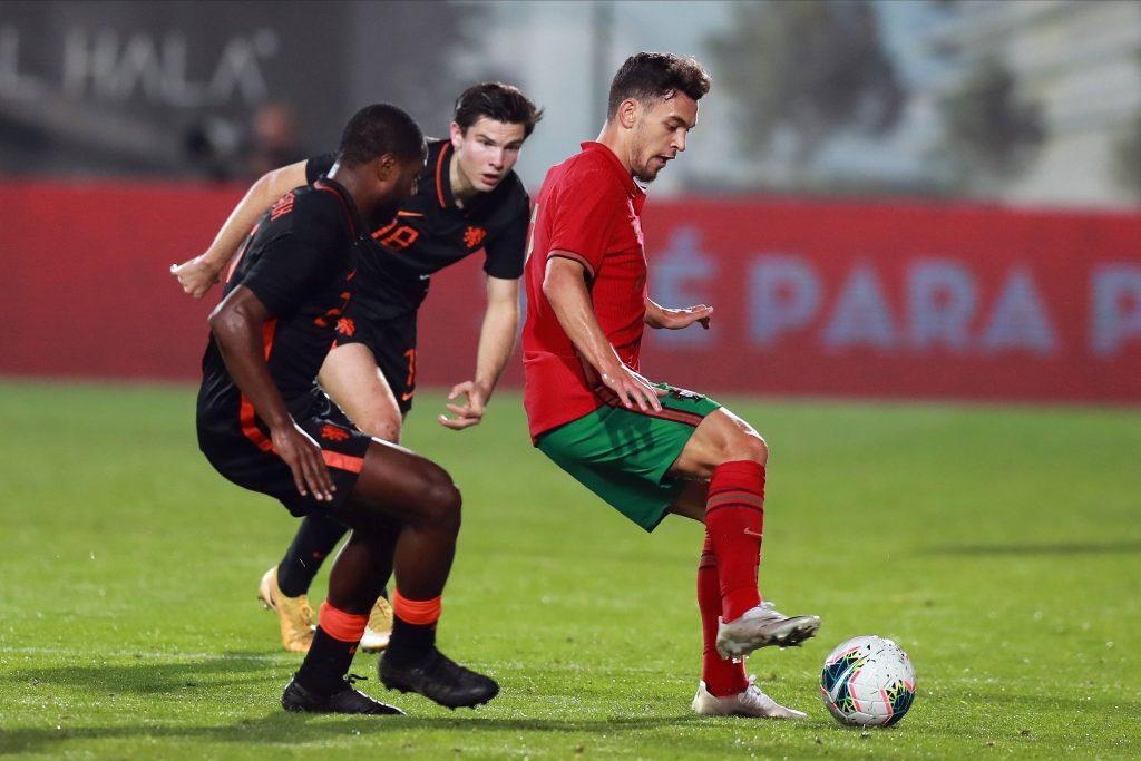 Pedro Gonçalves avec le Portugal U21