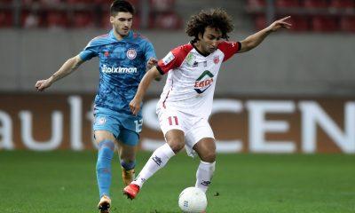 Ruben Vinagre avec l'Olympiakos