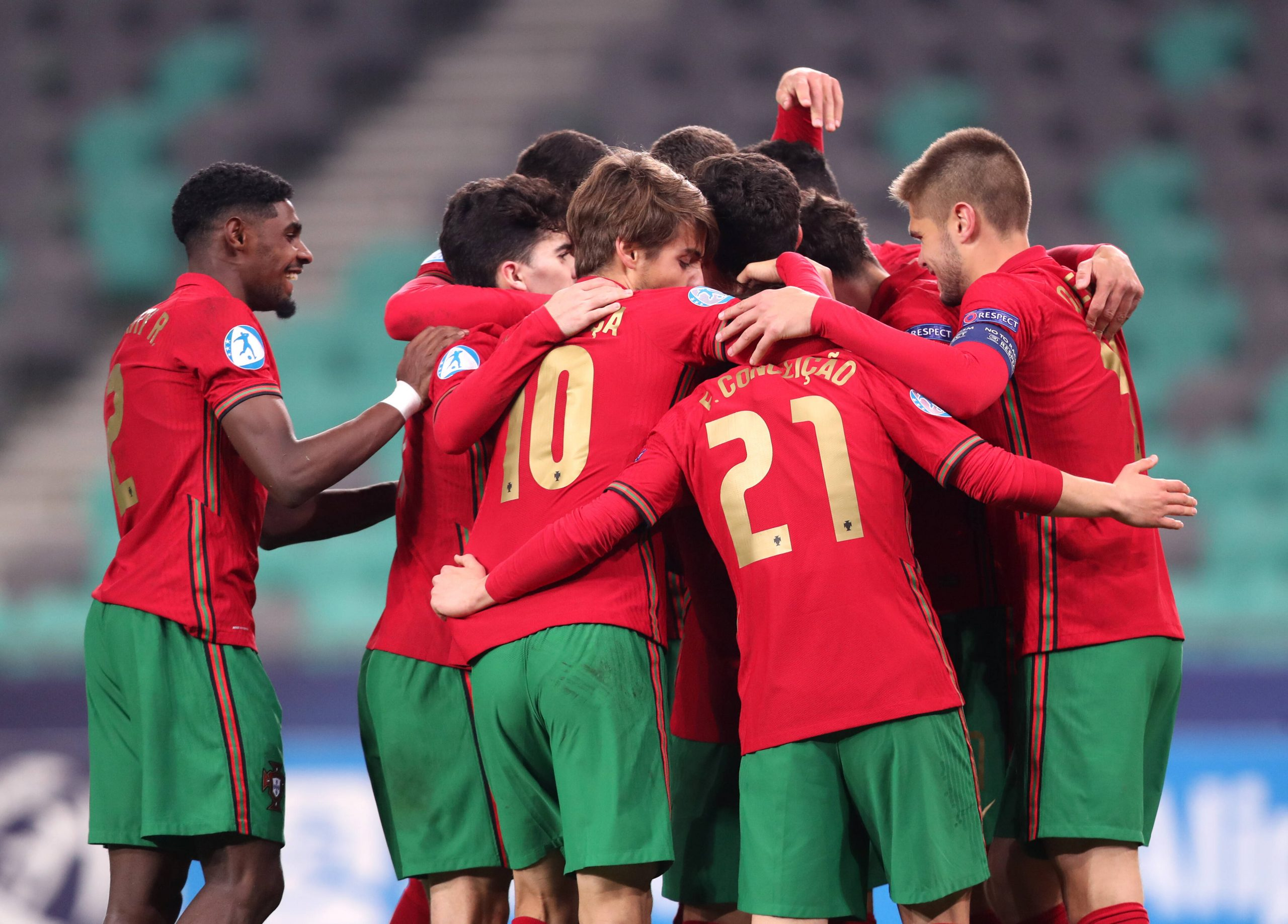 Le Portugal qualifié pour la phase finale de l'Euro Espoirs !