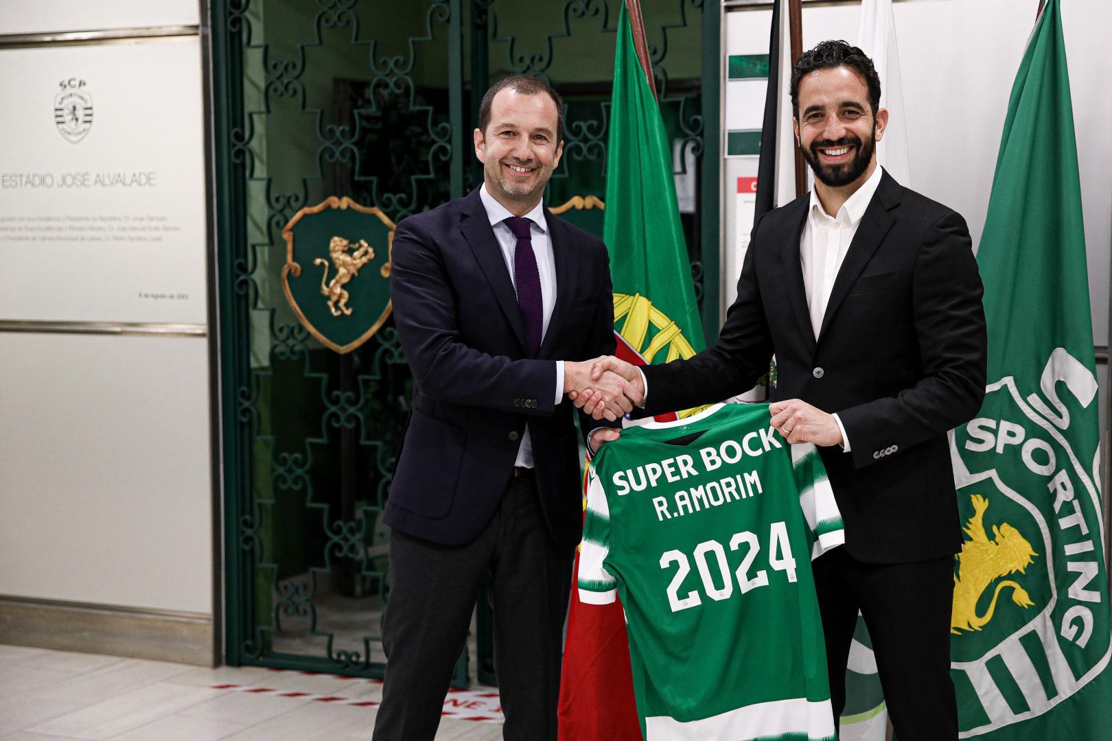 Rúben Amorim prolonge avec le Sporting CP !