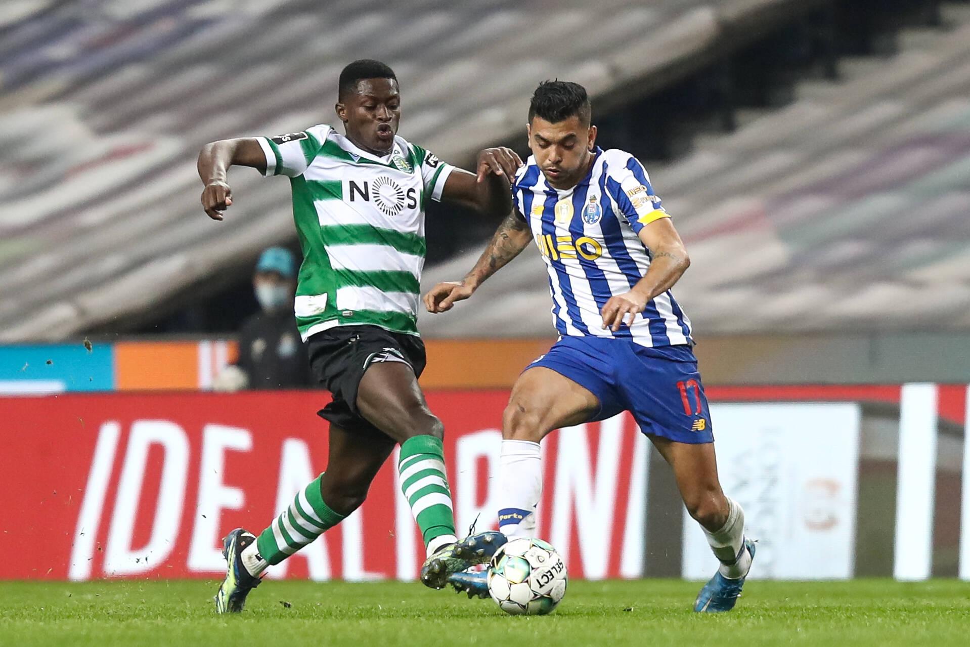 Nuno Mendes vs Porto