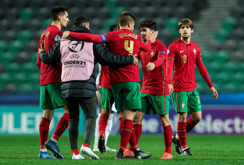 Entraînement du Portugal au vu de la phase finale Euro U21.