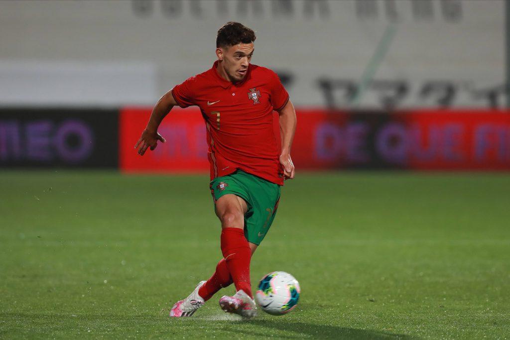 Euro 2021, la liste du Portugal. Pedro Gonçalves avec le Portugal Espoirs.