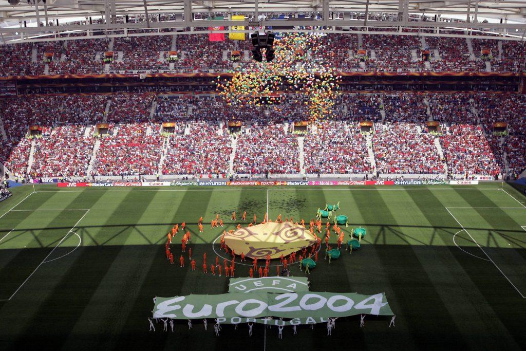 Cérémonie d'ouverture de l'Euro 2004