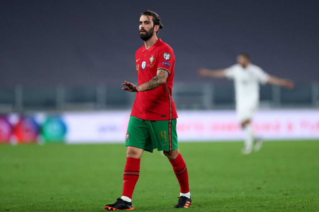 Sergio Oliveira face à l'Azerbaidjan