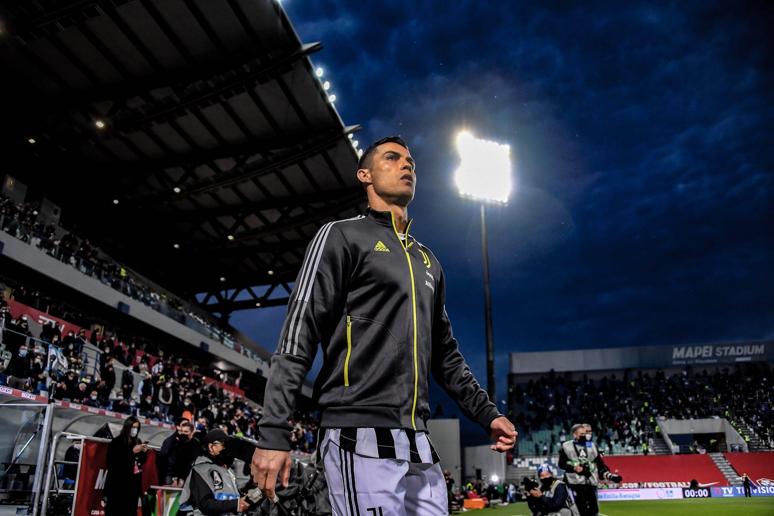 Cristiano Ronaldo dos Santos Aveiro (Juventus) during the Italian Serie A Italy Cup match between Atalanta 1-2 Juventus