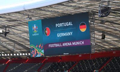 Portugal Allemagne au stade