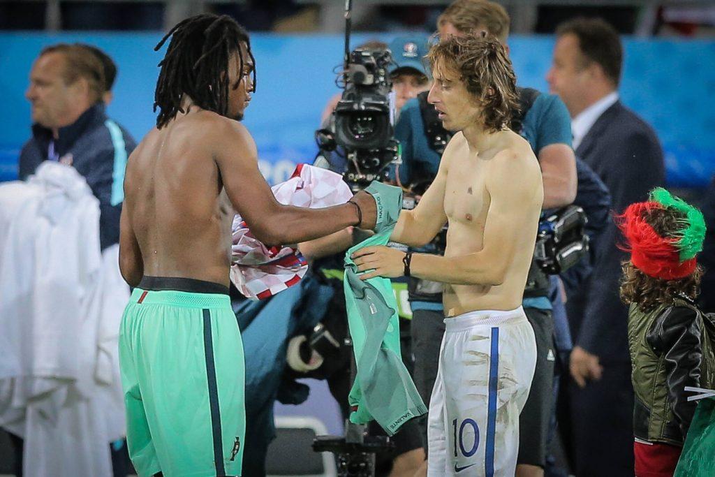 Renato Sanches et un fan