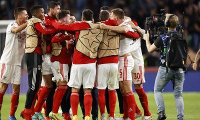 Célébration Benfica