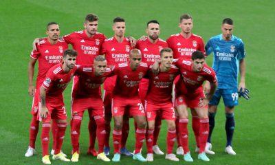 Le onze titulaire, côté Benfica.
