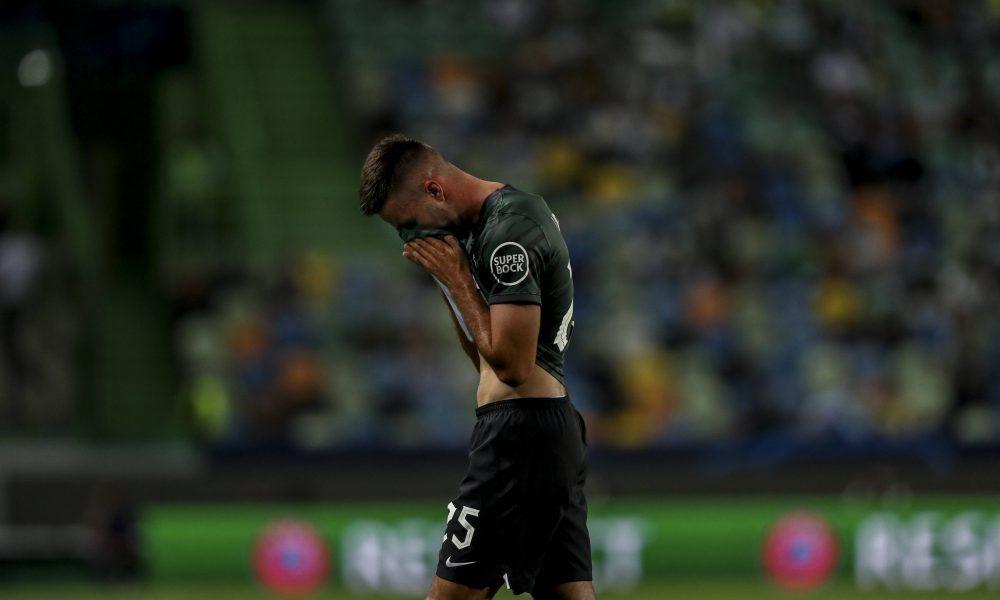 La déception gagne Sporting.