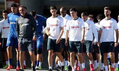 Le SC Braga à l'entraînement